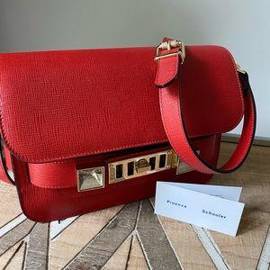 PROENZA SCHOULER PS11 RED CROSS BODY BAG